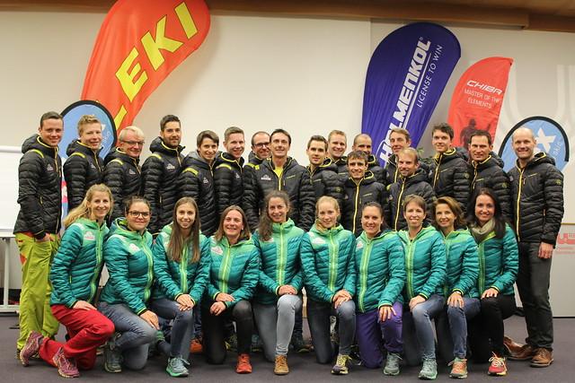 Winter Team La Sportiva Mountain Attack Team
